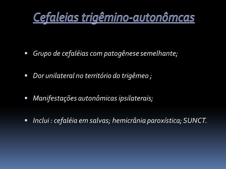 Cefaleias trigêmino-autonômcas