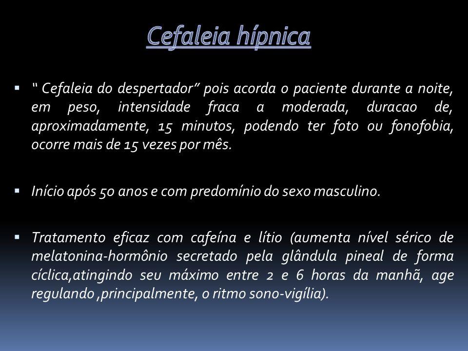 Cefaleia hípnica