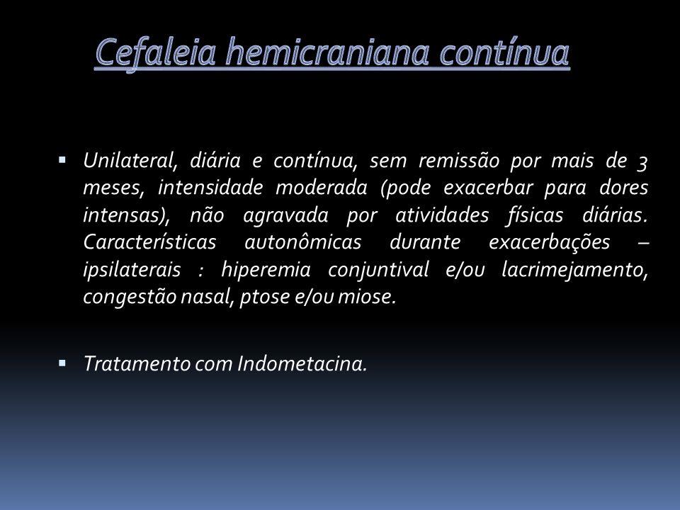 Cefaleia hemicraniana contínua