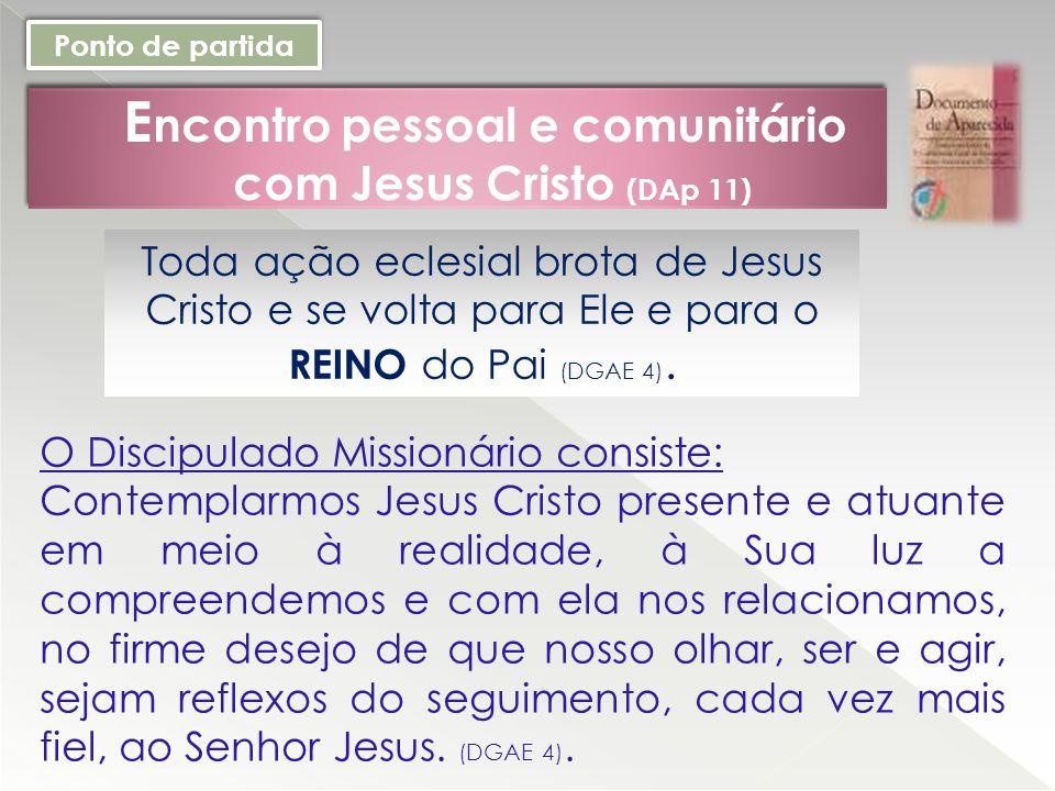 Encontro pessoal e comunitário com Jesus Cristo (DAp 11)