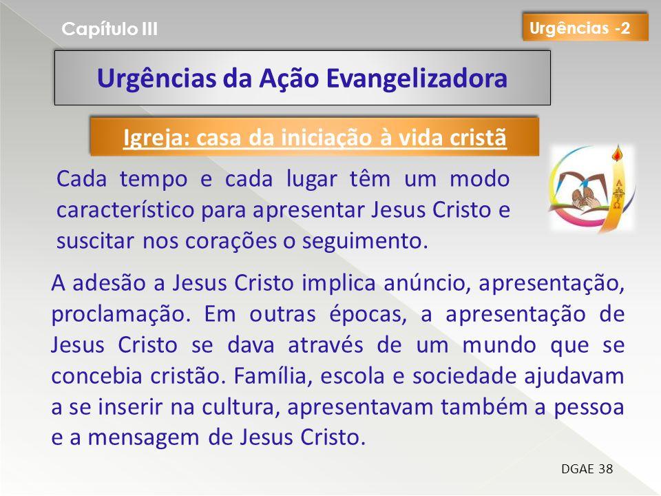 Urgências da Ação Evangelizadora
