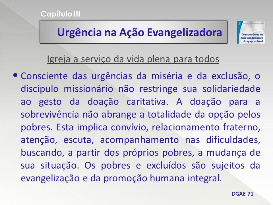 Urgência na Ação Evangelizadora