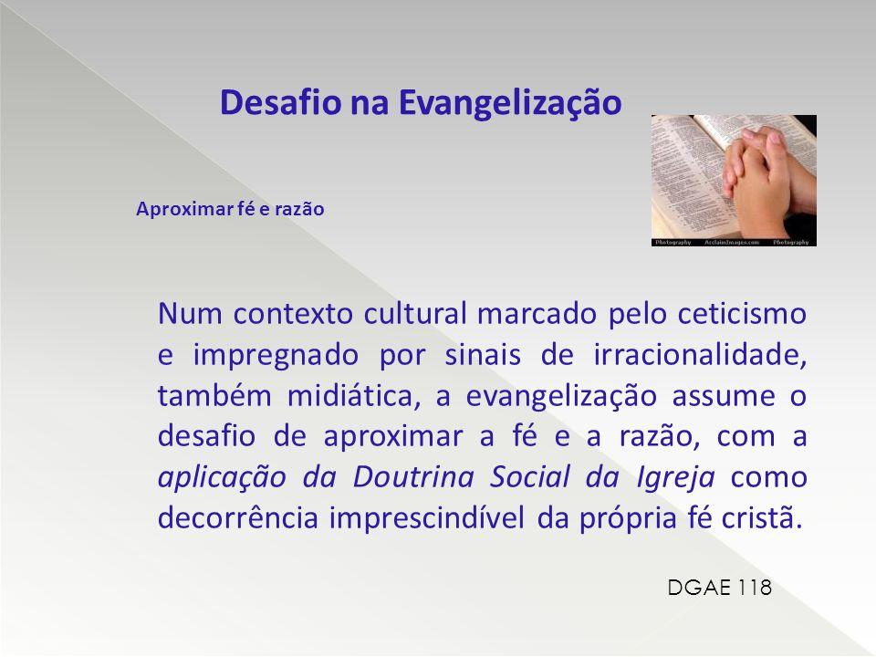 Desafio na Evangelização