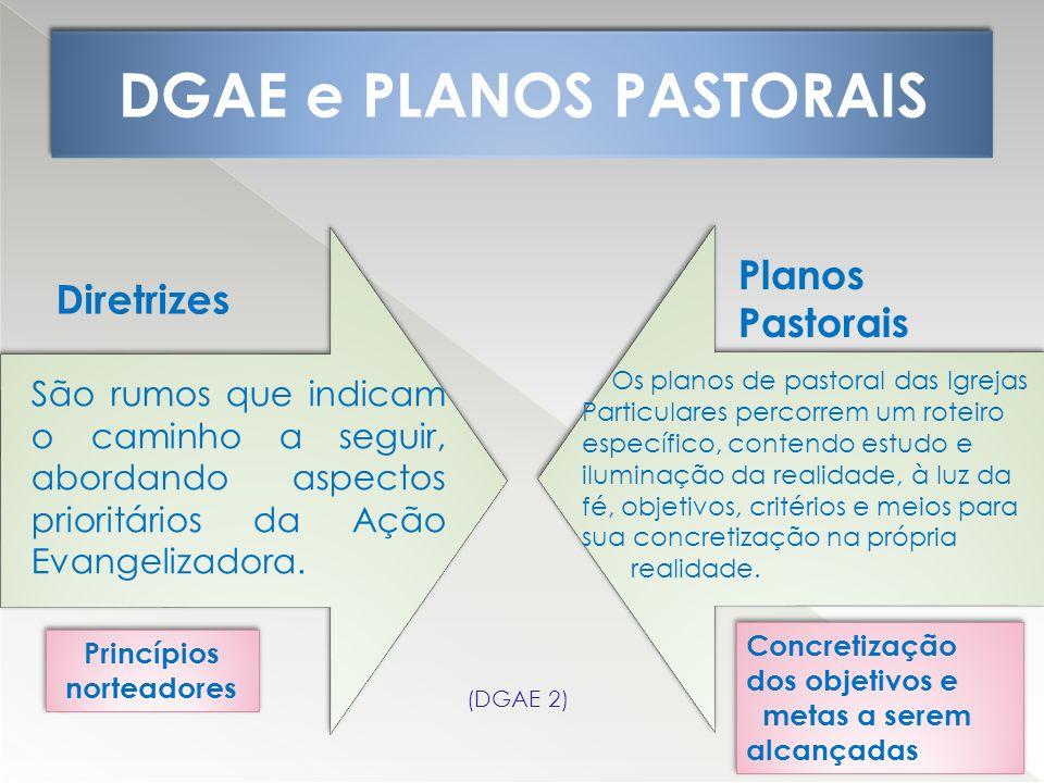 DGAE e PLANOS PASTORAIS