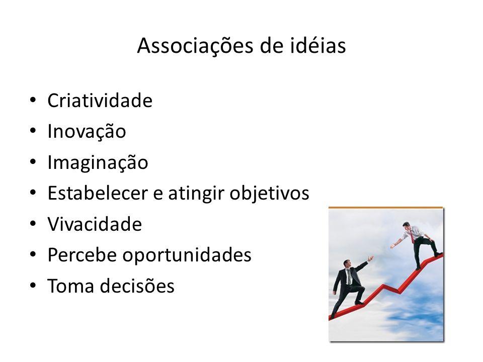 Associações de idéias Criatividade Inovação Imaginação