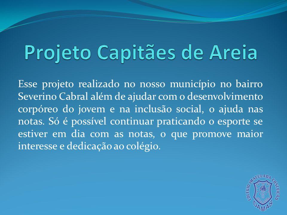 Projeto Capitães de Areia