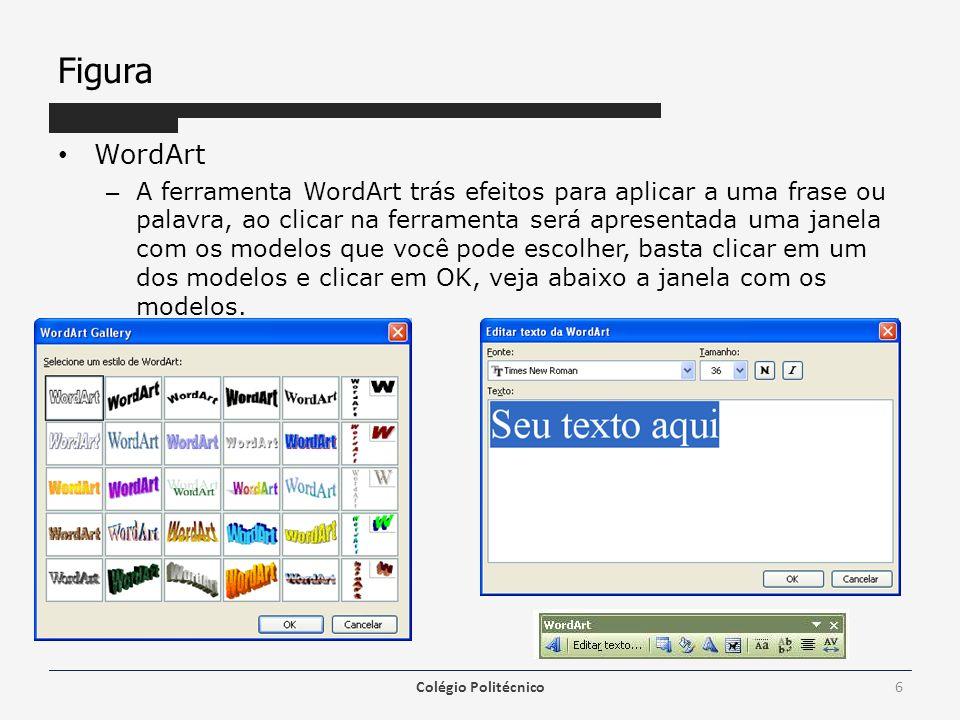 Figura WordArt.