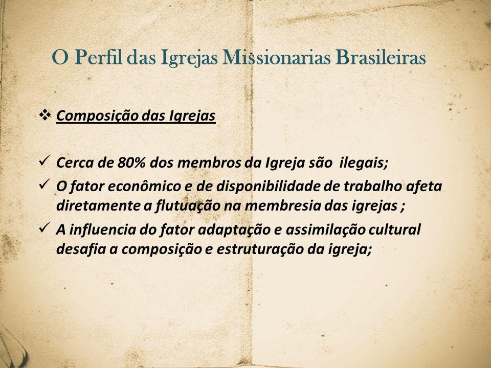 O Perfil das Igrejas Missionarias Brasileiras