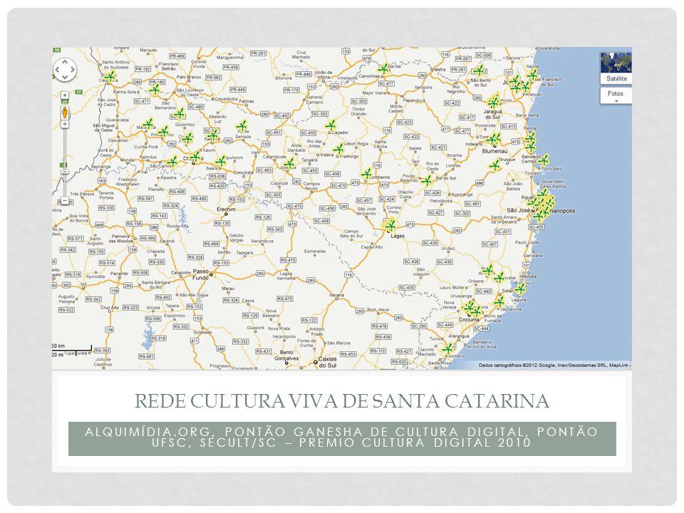 Rede cultura viva de santa catarina