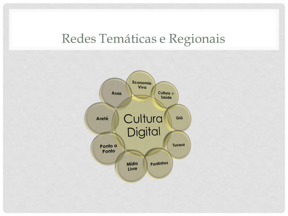 Redes Temáticas e Regionais