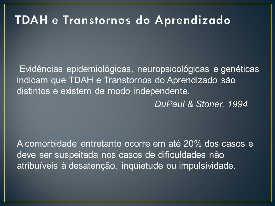 TDAH e Transtornos do Aprendizado