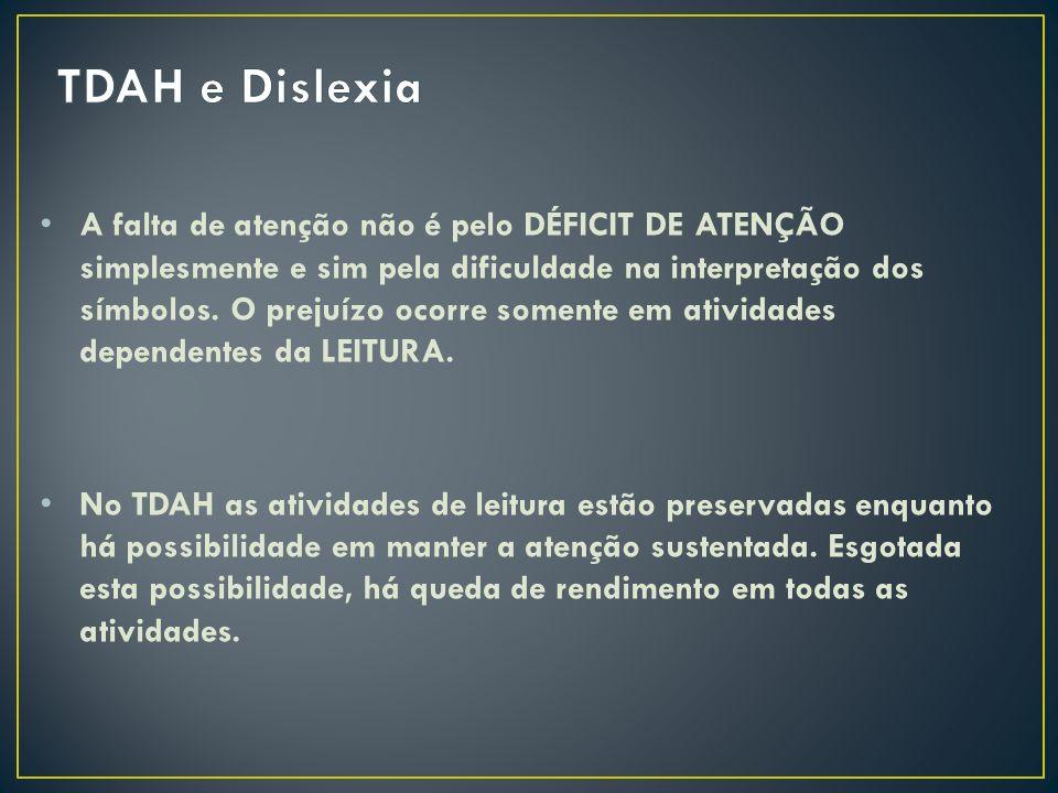 TDAH e Dislexia