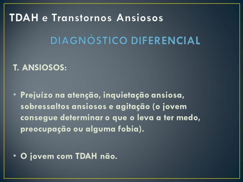 TDAH e Transtornos Ansiosos