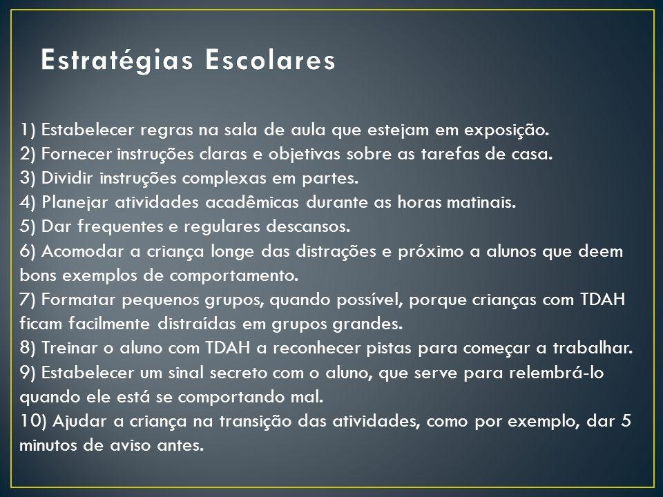 Estratégias Escolares