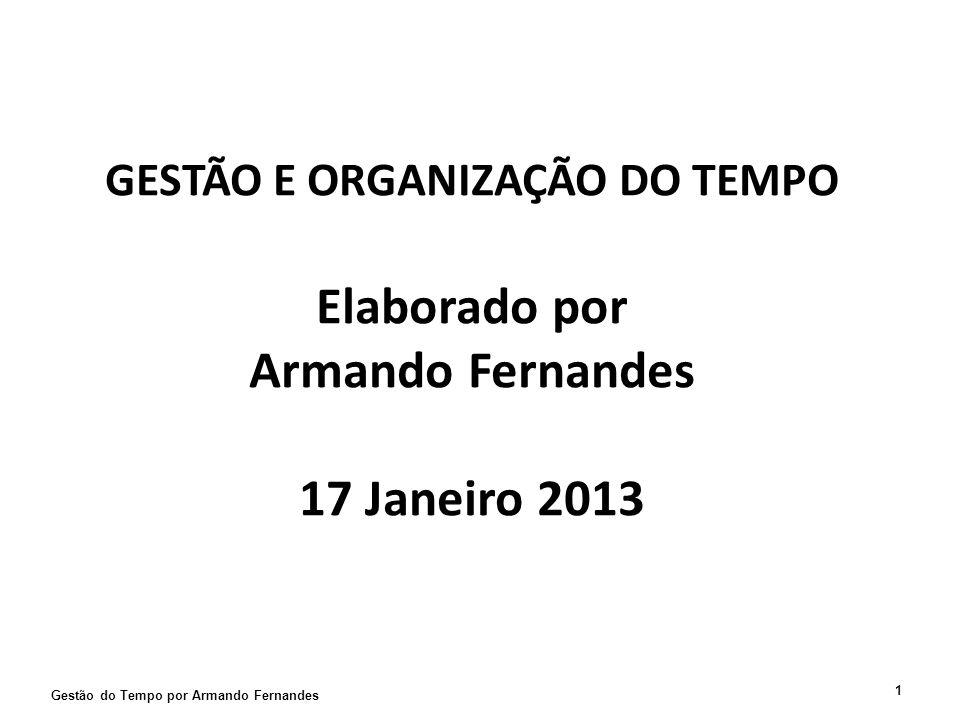 Workshop - Gestão e Organização do Tempo