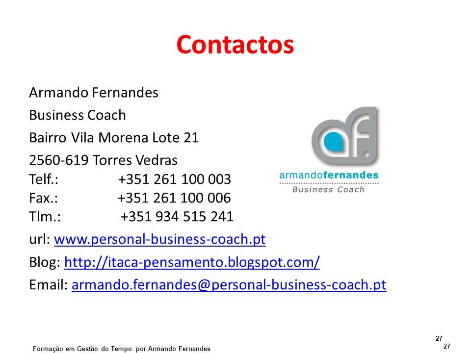 Contactos Armando Fernandes Business Coach Bairro Vila Morena Lote 21