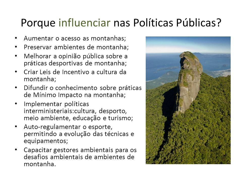 Porque influenciar nas Políticas Públicas