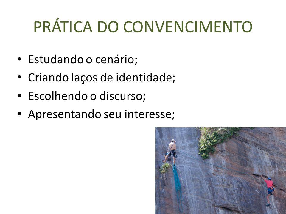 PRÁTICA DO CONVENCIMENTO