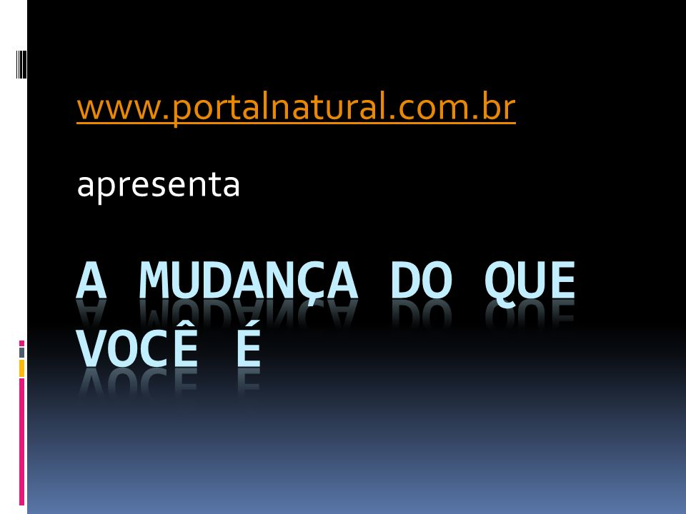 www.portalnatural.com.br apresenta