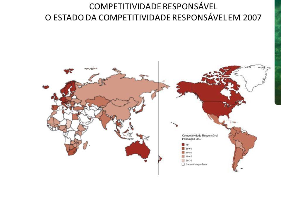 COMPETITIVIDADE RESPONSÁVEL O ESTADO DA COMPETITIVIDADE RESPONSÁVEL EM 2007