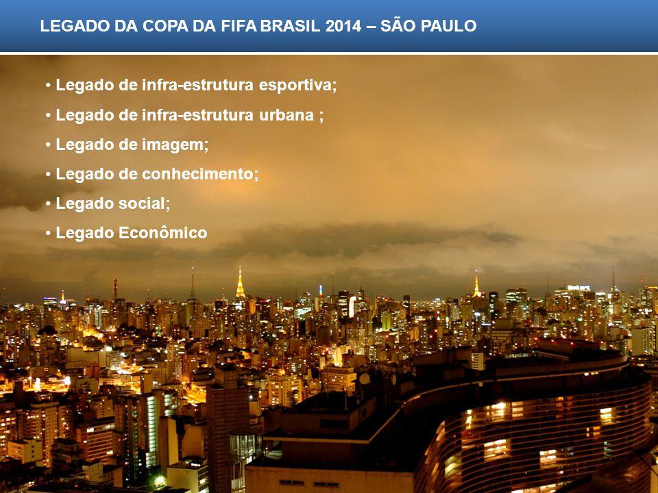 LEGADO DA COPA DA FIFA BRASIL 2014 – SÃO PAULO