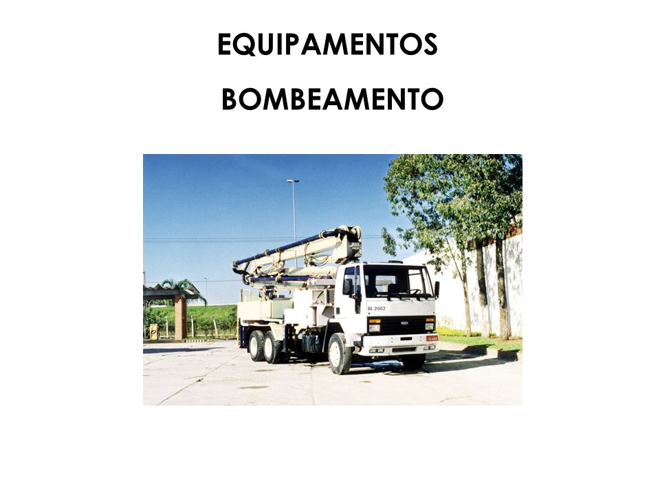 EQUIPAMENTOS BOMBEAMENTO