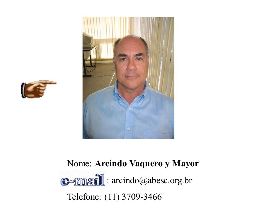 Nome: Arcindo Vaquero y Mayor