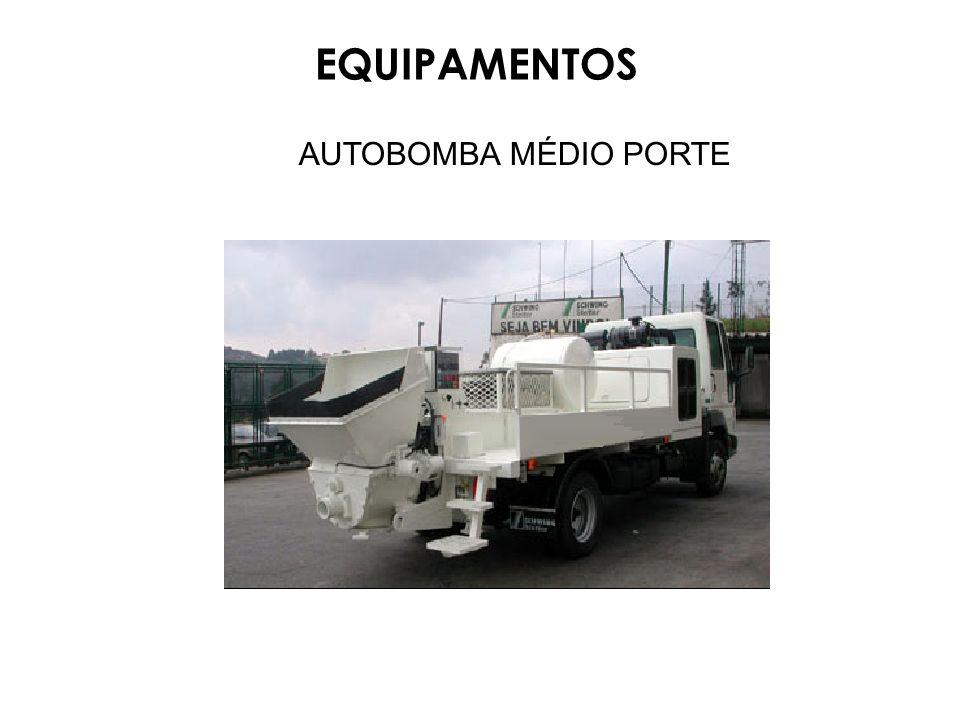 EQUIPAMENTOS AUTOBOMBA MÉDIO PORTE