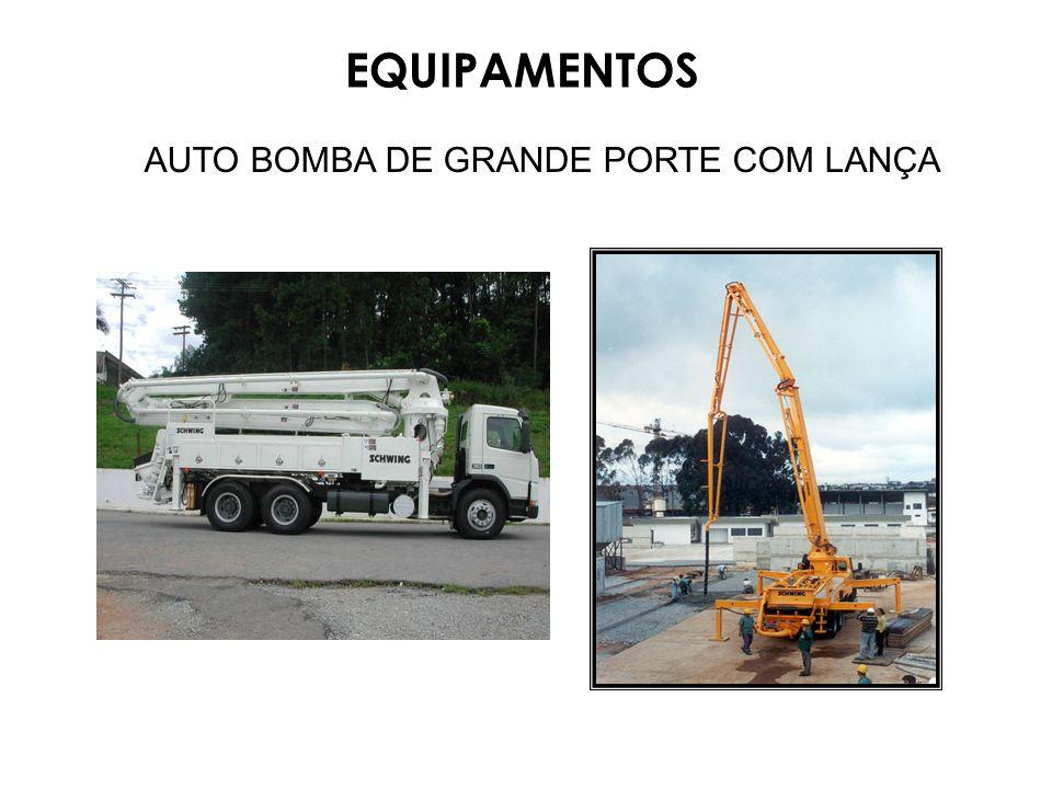 AUTO BOMBA DE GRANDE PORTE COM LANÇA