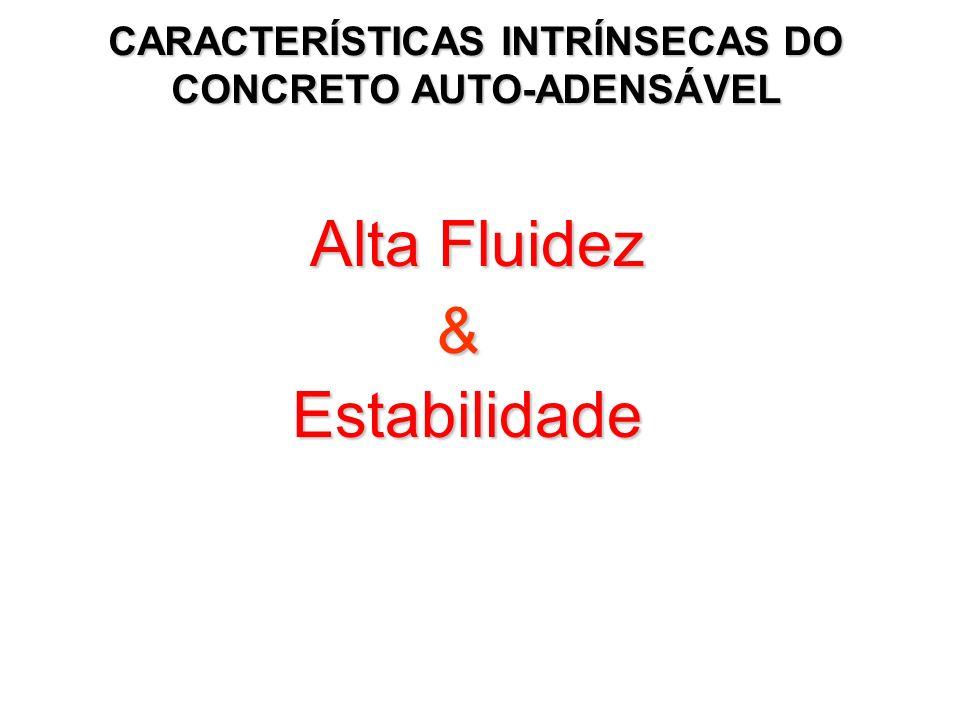 CARACTERÍSTICAS INTRÍNSECAS DO CONCRETO AUTO-ADENSÁVEL