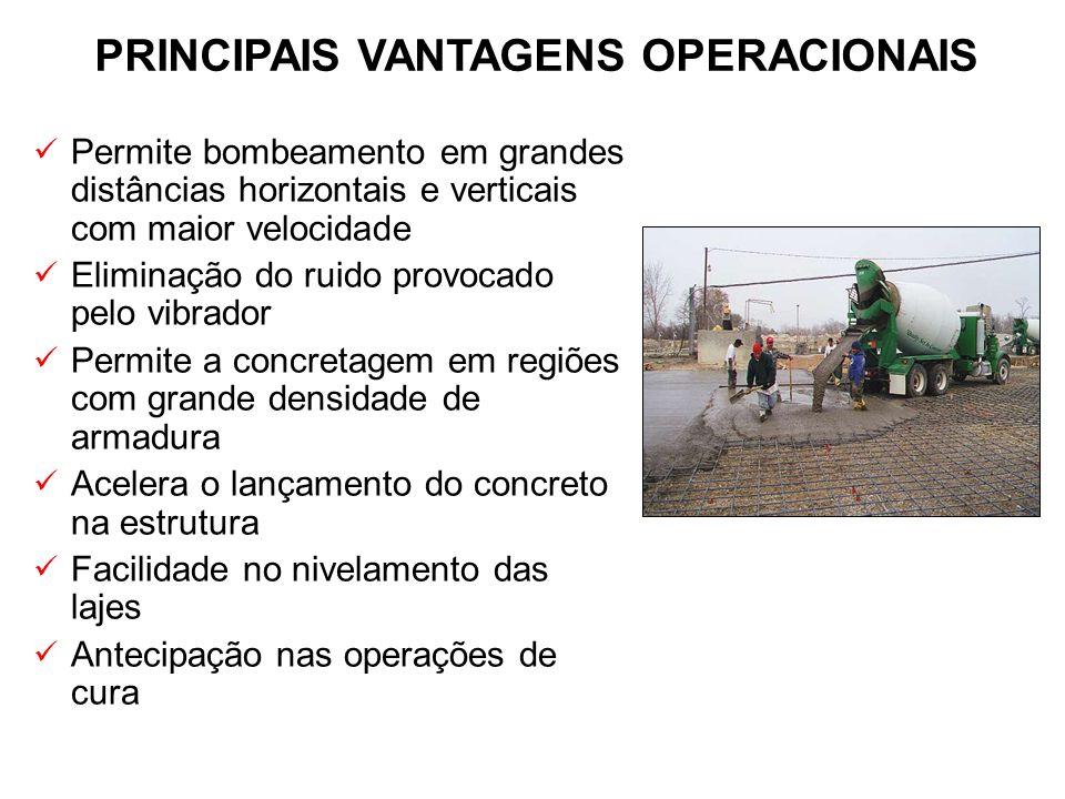 PRINCIPAIS VANTAGENS OPERACIONAIS