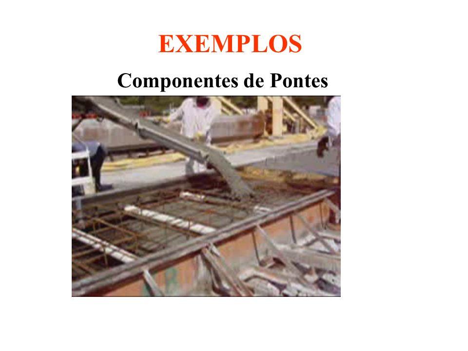 EXEMPLOS Componentes de Pontes