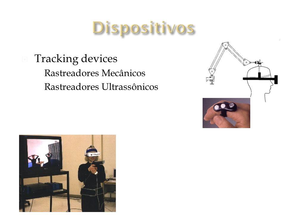 Dispositivos Tracking devices Rastreadores Mecânicos