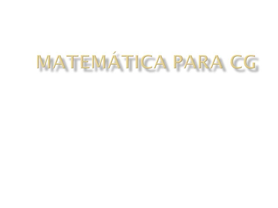 Matemática para CG