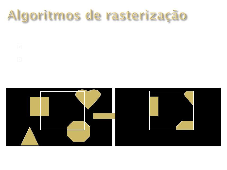 Algoritmos de rasterização