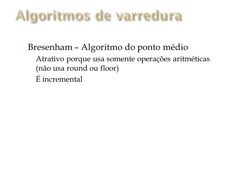 Algoritmos de varredura