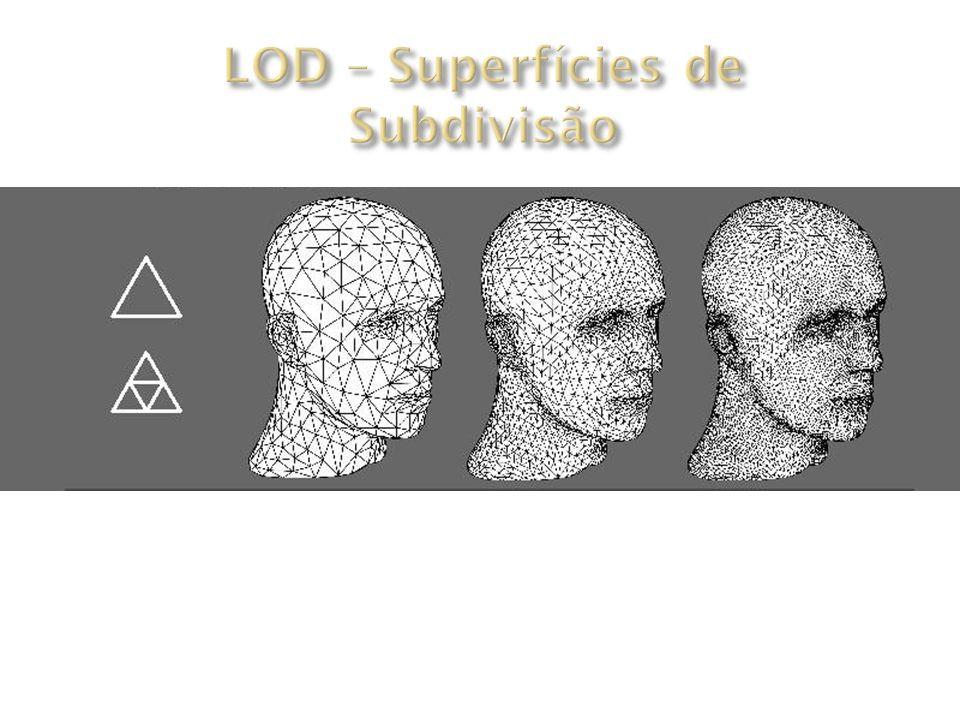 LOD – Superfícies de Subdivisão