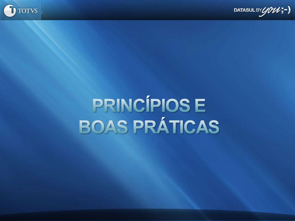 Princípios e boas Práticas