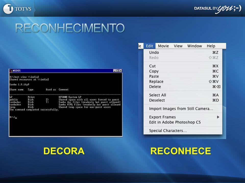 RECONHECIMENTO DECORA RECONHECE Richard Faust - 1996