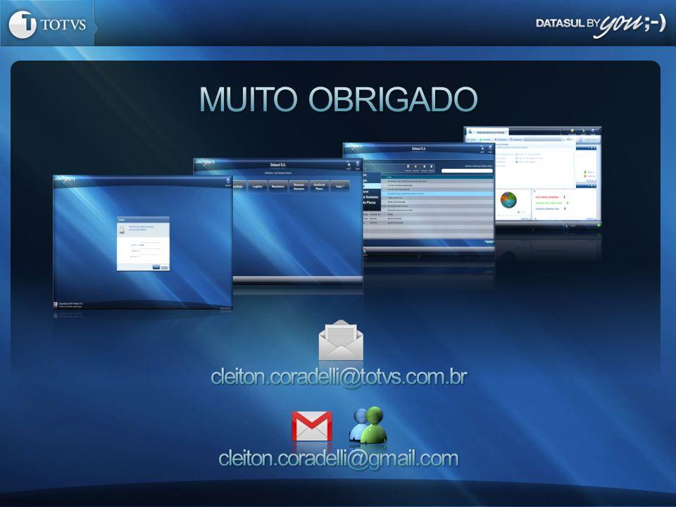 cleiton.coradelli@totvs.com.br cleiton.coradelli@gmail.com
