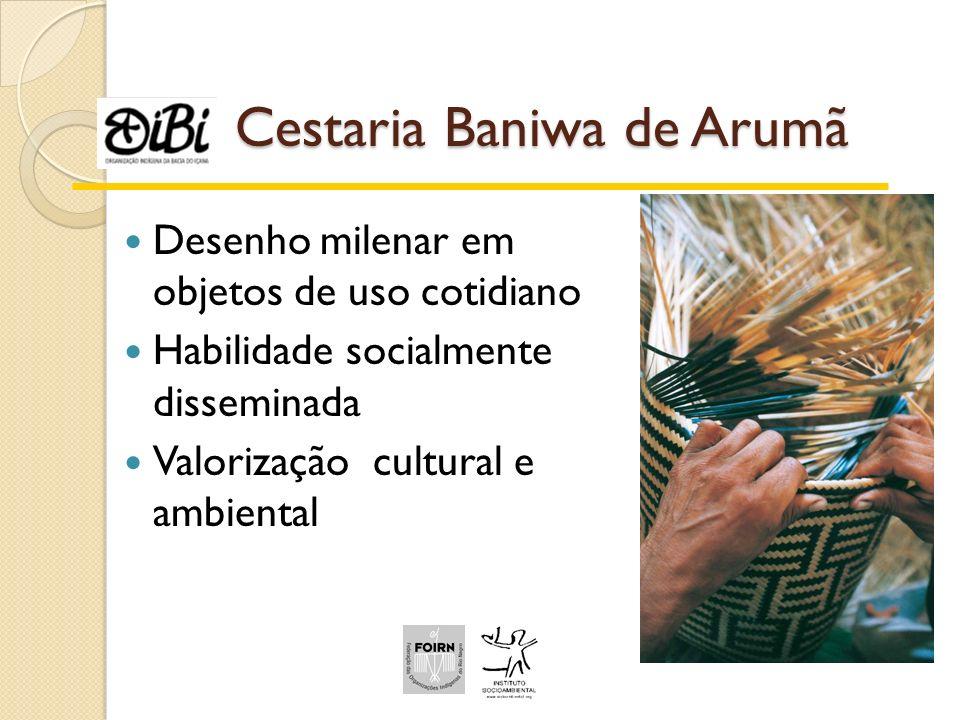 Cestaria Baniwa de Arumã
