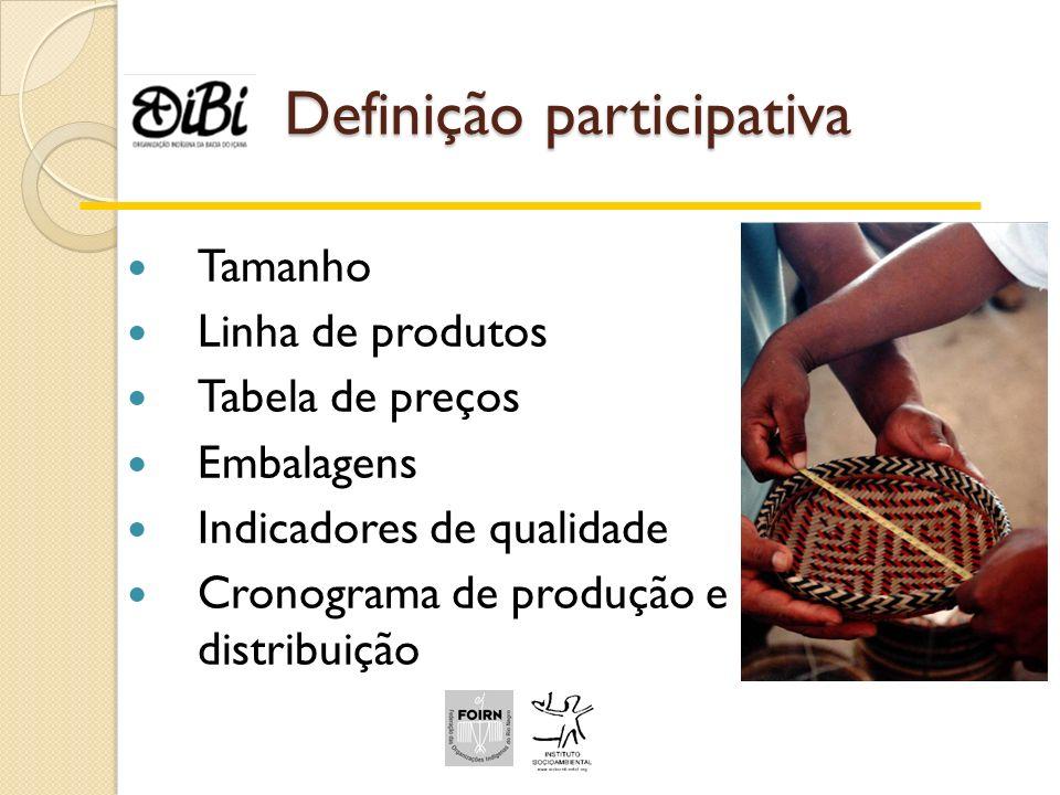 Definição participativa