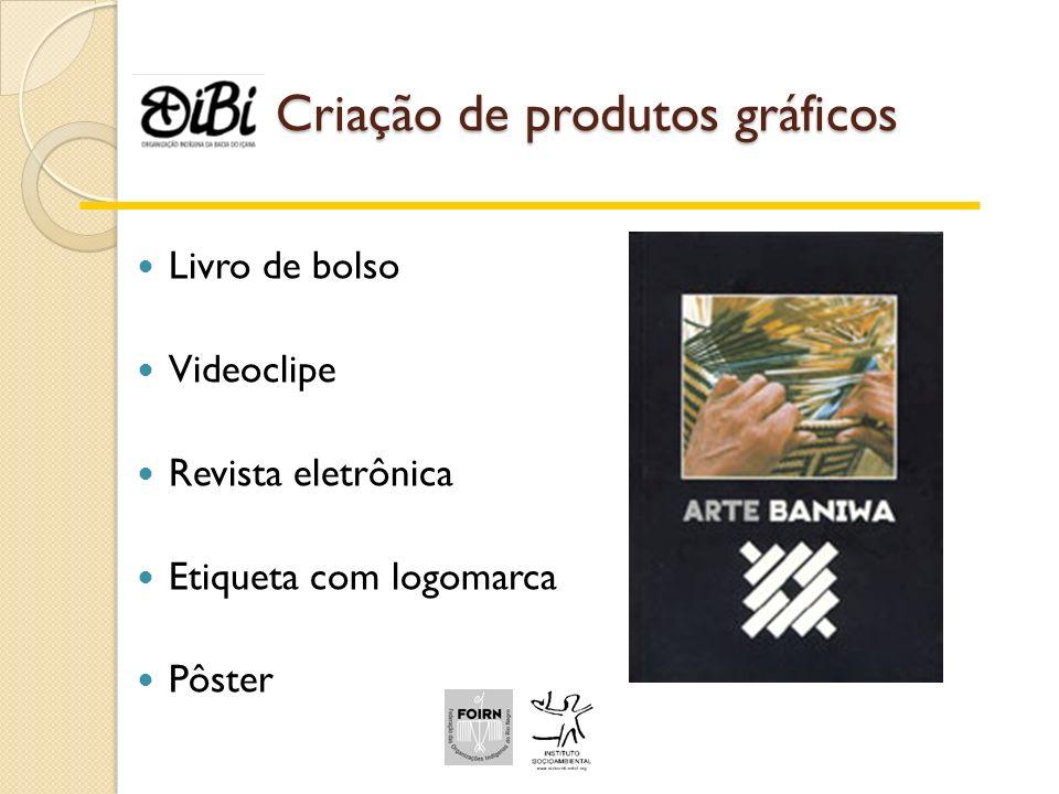 Criação de produtos gráficos