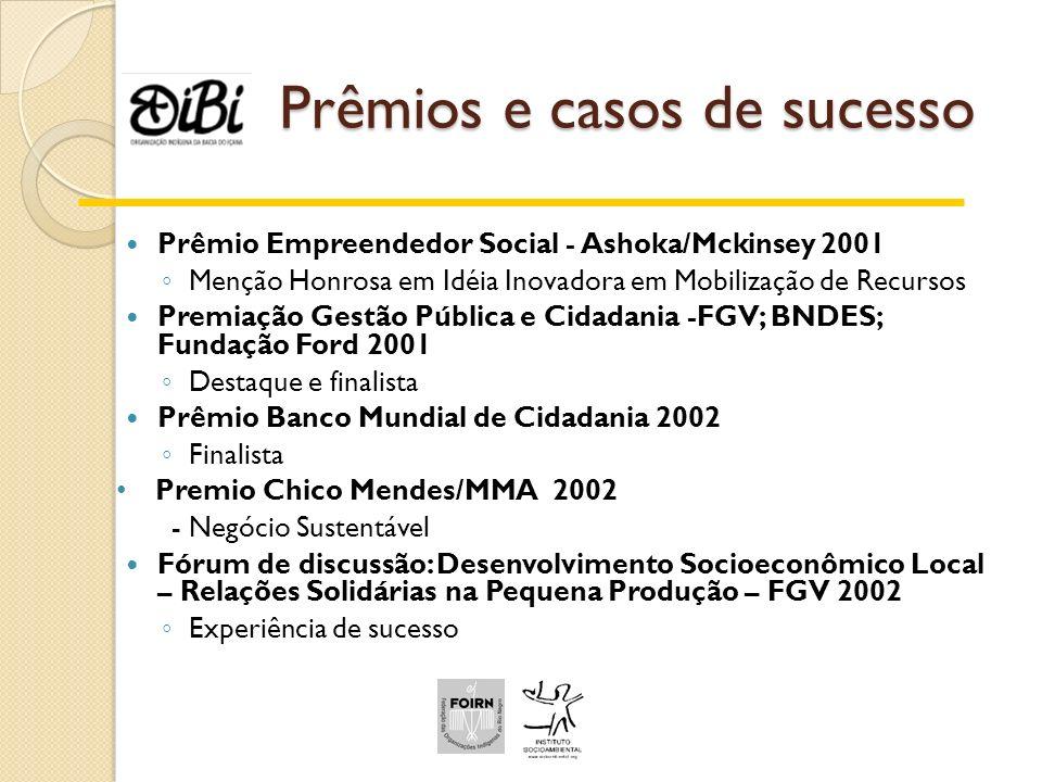 Prêmios e casos de sucesso