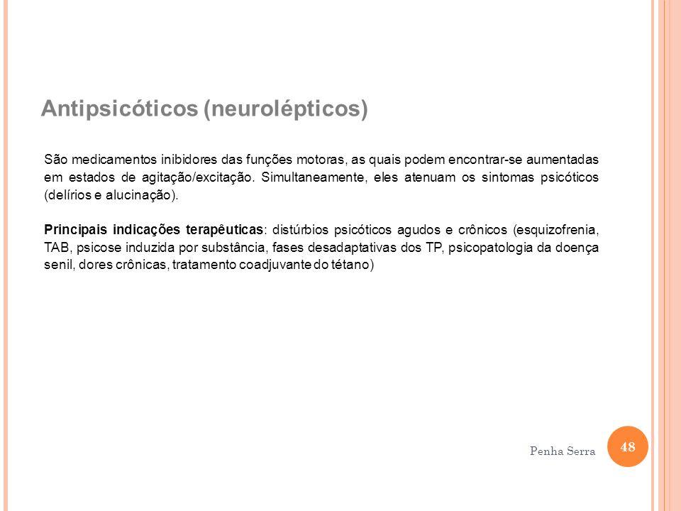 Antipsicóticos (neurolépticos)