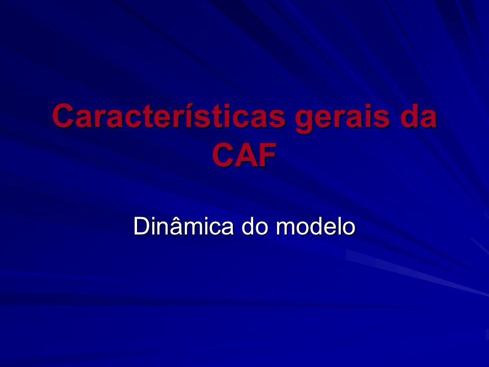 Características gerais da CAF