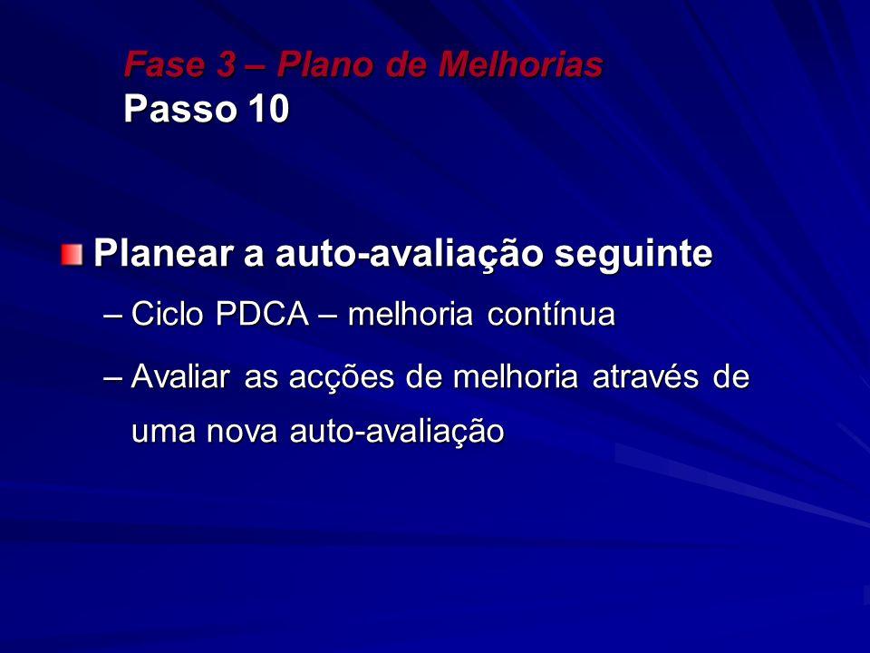Fase 3 – Plano de Melhorias Passo 10