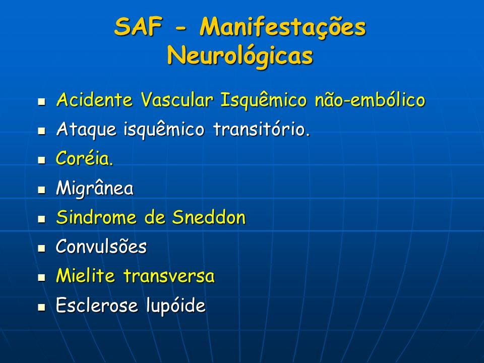 SAF - Manifestações Neurológicas