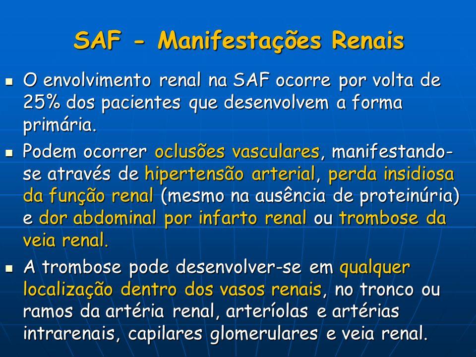 SAF - Manifestações Renais