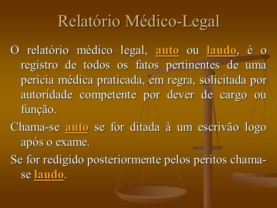Relatório Médico-Legal